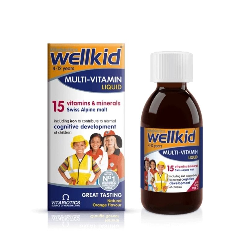 Vitabiotics WellKid Multi-Vitamin Liquid