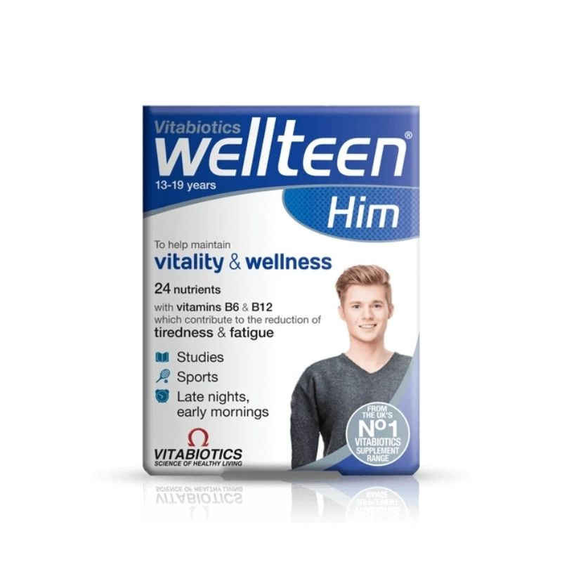Vitabiotics Wellteen Him Vitamins