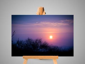 Sunset in the Lowveld Canvas Print | Photos by Petrus Bester