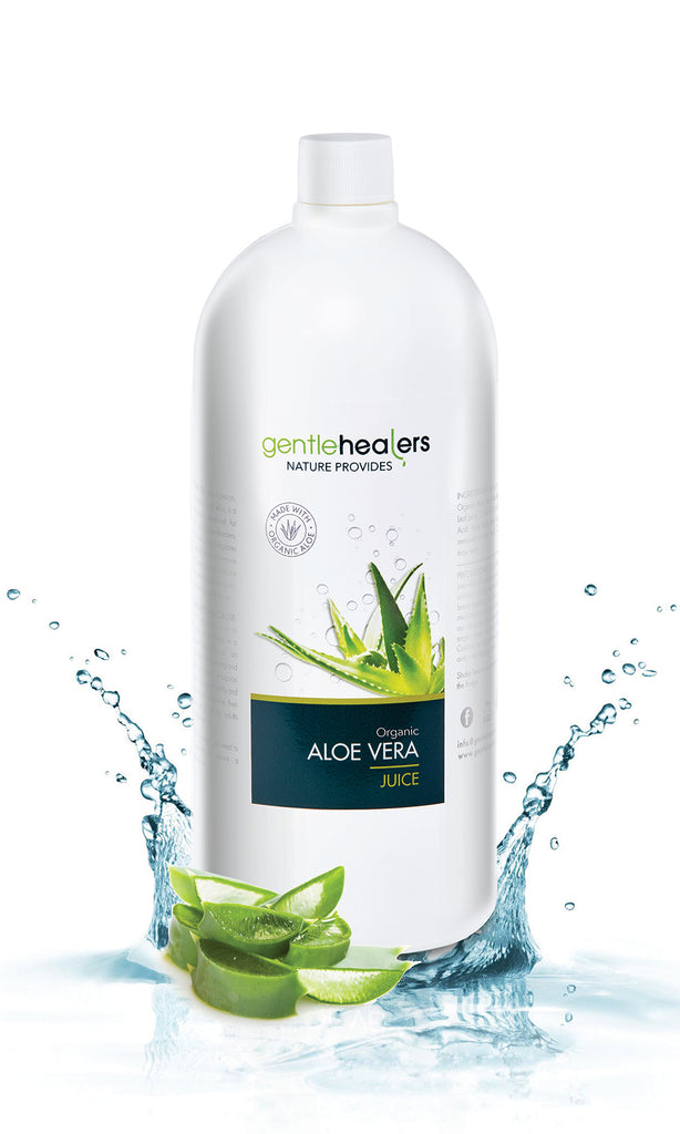 Organic Aloe Vera Juice - 1 Litre - (contains no preservative)