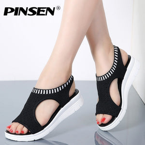women summer wedge comfortable fashion sandals