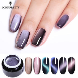 5D Cat Eye Magnetic Soak Off UV Gel Lacquers