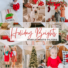 Load image into Gallery viewer, Holiday Brights - Lightroom Mobile Presets