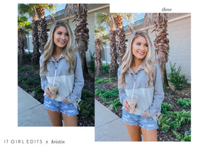Kristin Collection - Lightroom Mobile Presets