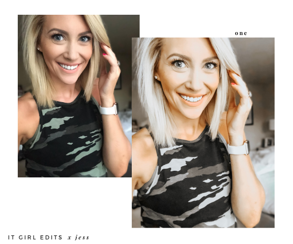 Jess Collection - Lightroom Mobile Presets