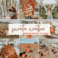 Load image into Gallery viewer, Sweater Weather - Lightroom Mobile Presets