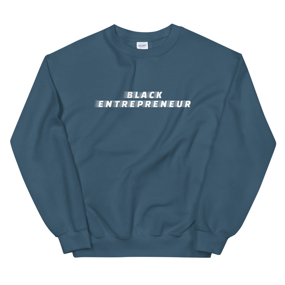 Black Entrepreneur Racer Sweatshirt - Black Entrepreneur Clothing