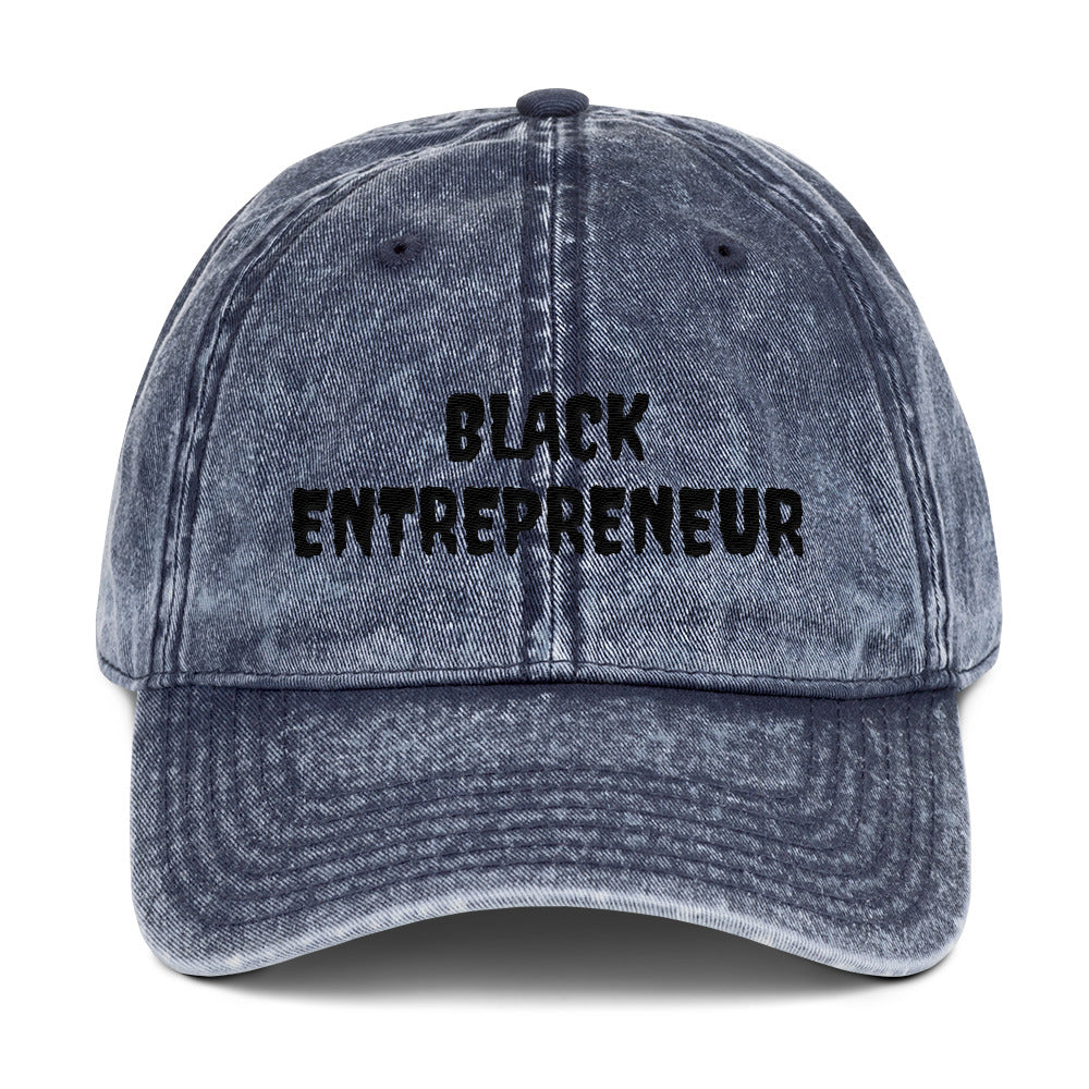 Black Entrepreneur Vintage Hat - Black Entrepreneur Clothing