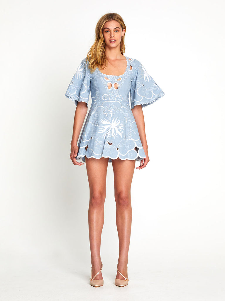 DISSOLVING HEARTS MINI DRESS