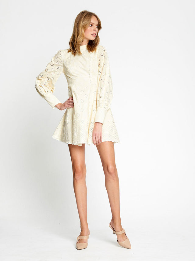 Angels Sleeve Mini Dress