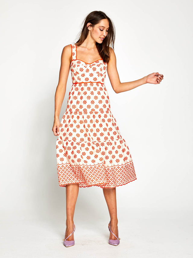 I Want You Midi Dress