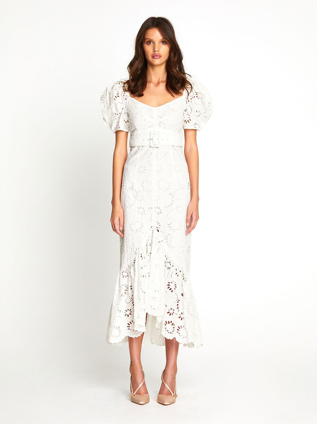 OBSCURITY MIDI DRESS