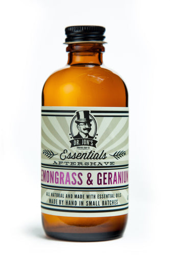 Dr. Jon's Essentials Lemongrass & Geranium Aftershave Tonic