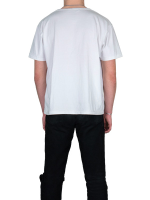 MGR White T-Shirt Back Streetwear