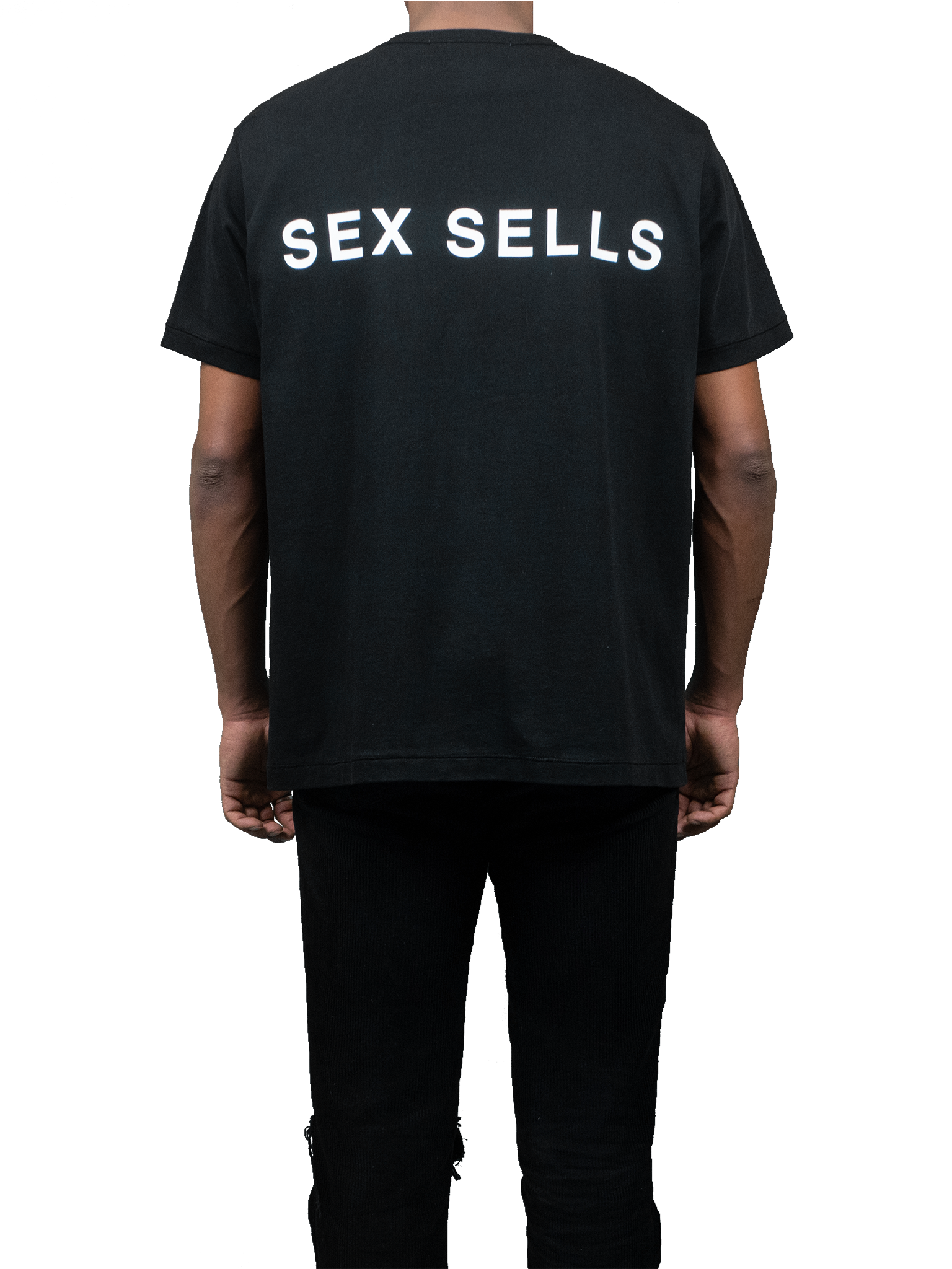 Sex Sells T-Shirt Black Back Streetwear MGR
