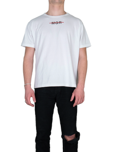 MGR Logo T-Shirt Front White