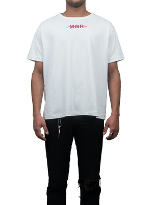 Beauty White T-Shirt MGR Front