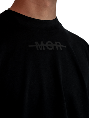 Triple Black Logo T-Shirt