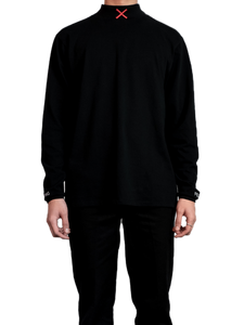 Embroidered Turtleneck