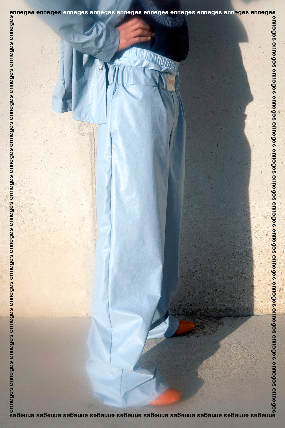 Unisex Tech fabric loose pants