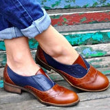 Low Top British Style Loafers Flats