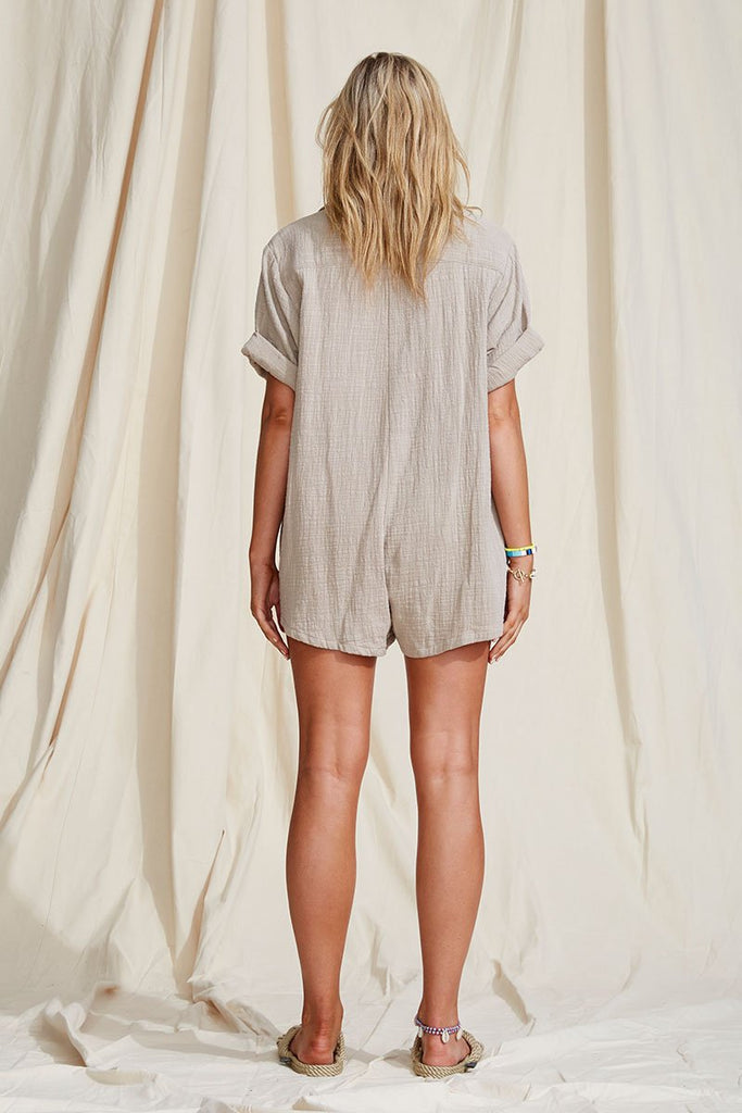 Summer Casual Cotton Romper