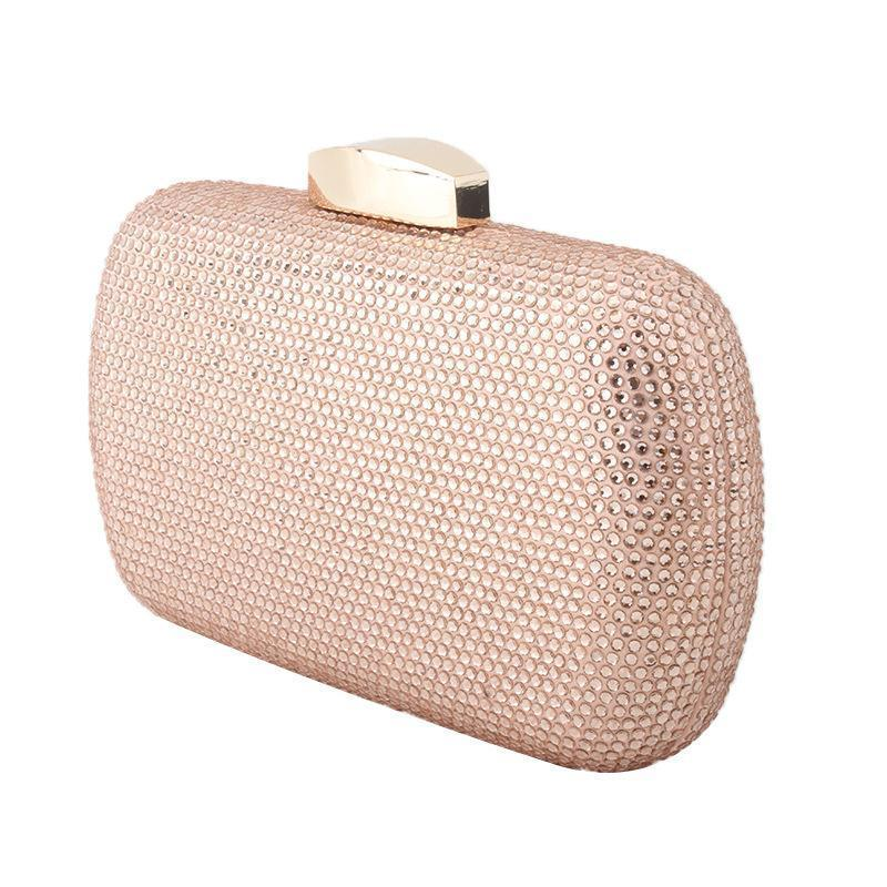 New Rhinestone Evening Bag Banquet Clutch Bag