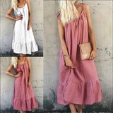 Sexy Sling Summer Casual Maxi Dress