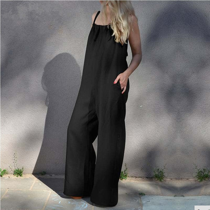 New Casual Wide Leg Jumpsuits