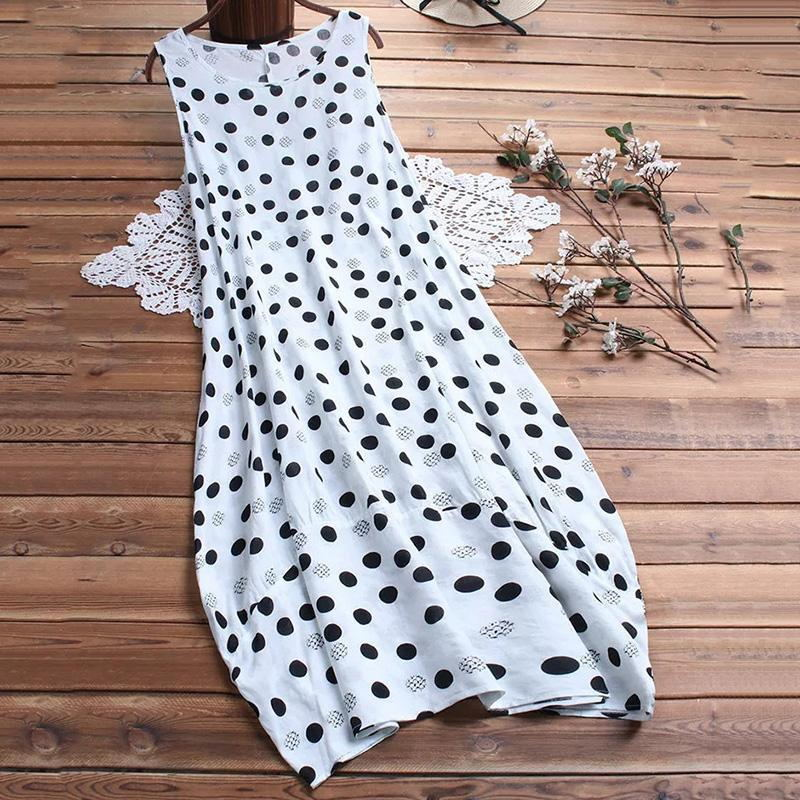Two Pieces Polka Dot Maxi Dresses