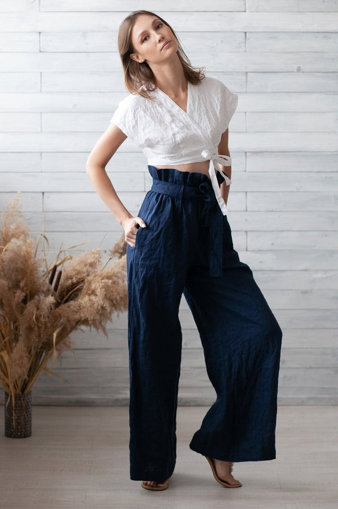 Fashion Loose Cotton Linen Summer Pant