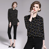 New Fashion Printed Joker Loose Shirt