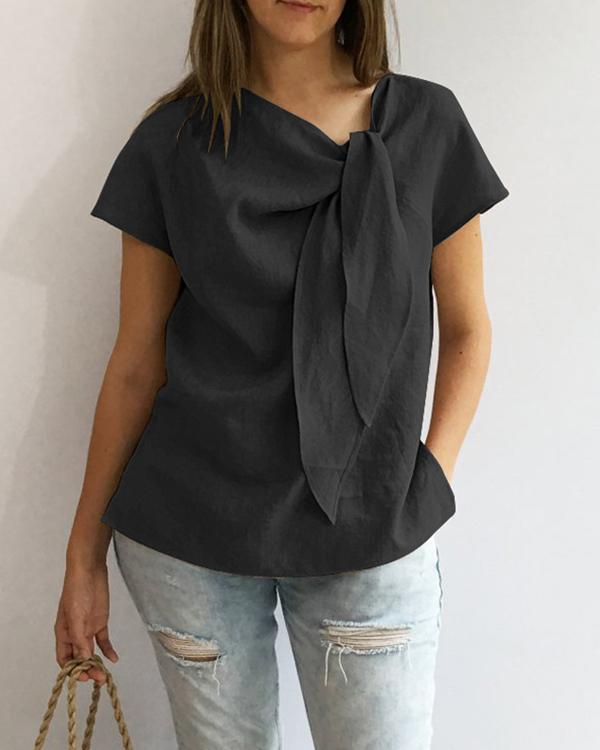 Casual Women Summer Blouses