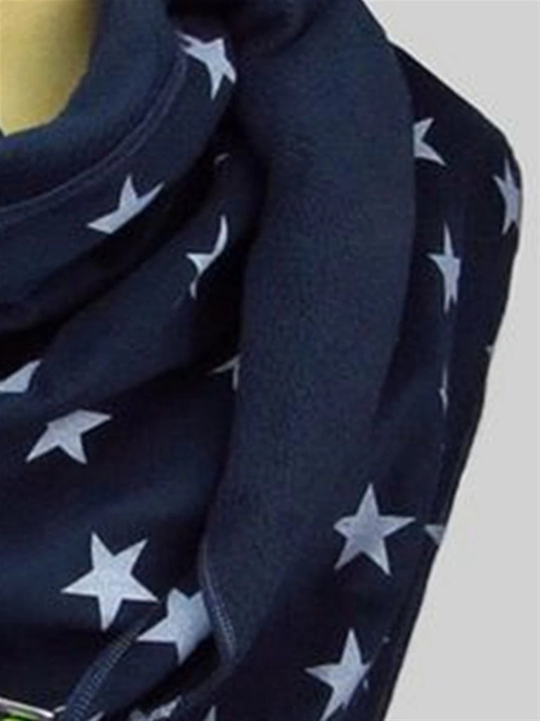 Casual Basic Daily Vintage Scarves Shawls