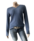 V-neck Hollow Thin Casual Sweater-4color
