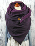 Warm Casual Scarves & Shawls-2color