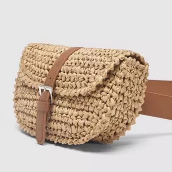 Bohemian Beach Straw Bag