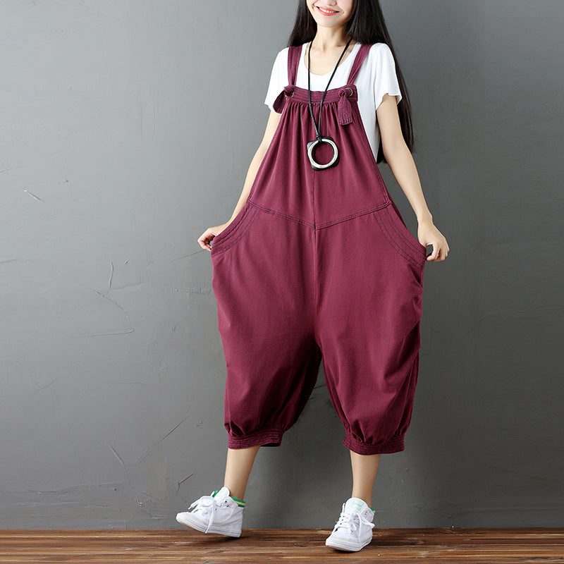 New Loose Wide Leg Jumpsuits