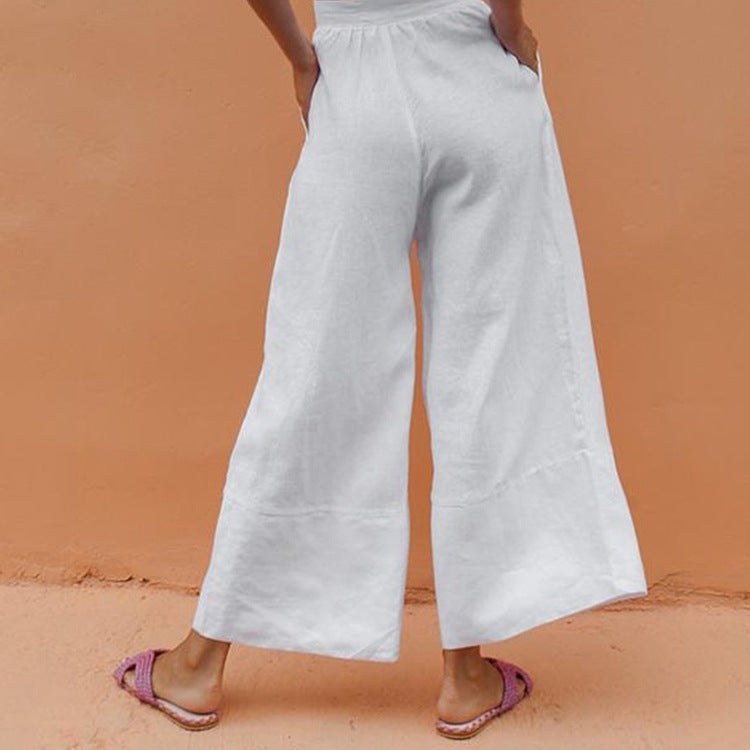 Leisure Wide Leg Pants