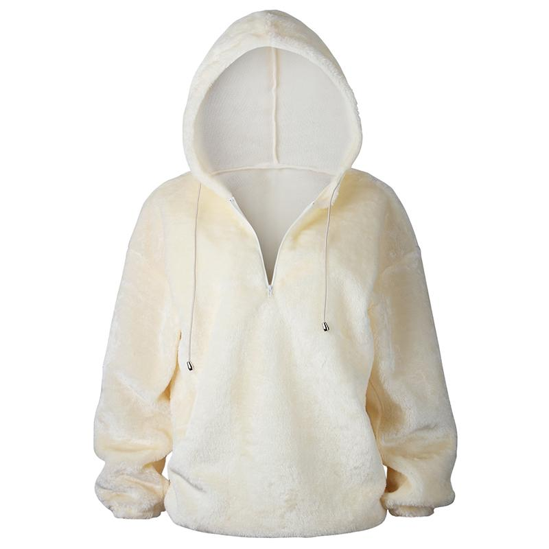 Street Fashion Solid Color Hoodie -5color