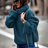 Fashion Pullover High Neck Winter Sweater