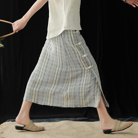 products/Bamboo_Cotton_Retro_Loose_Summer_Buckle_Striped_Skirt_1.jpg
