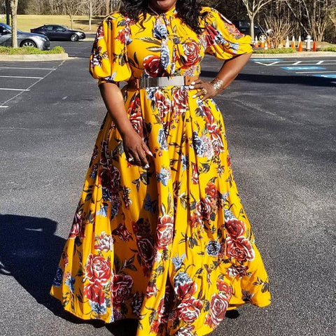 products/Ladies_dress_large_size_bubble_five_point_sleeves_yellow_print_long_long_elegant_party_dresses_2019_1.jpg
