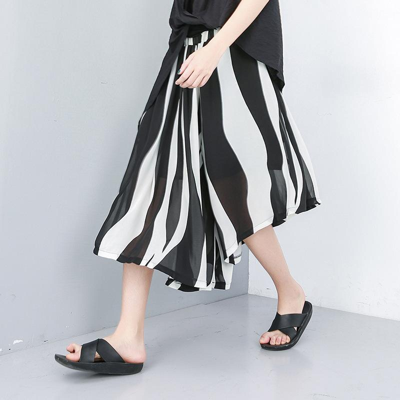 Summer Lanon Striped Wide Leg Pants