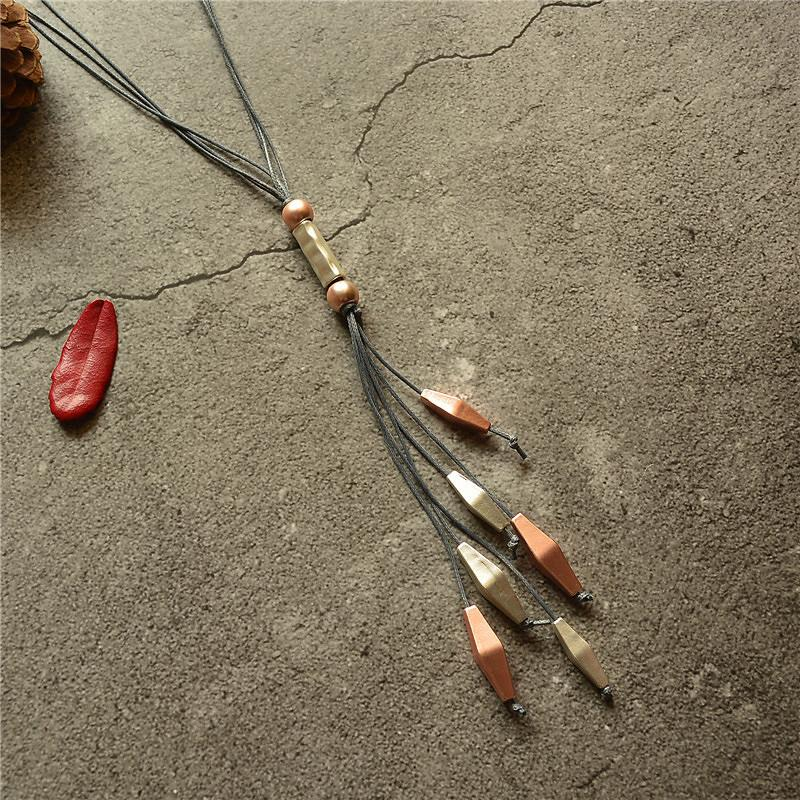 New Fashion Tassel Women Long Necklace