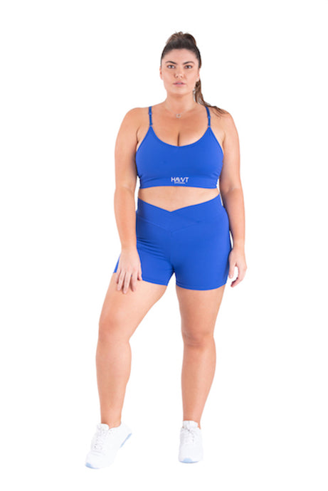 Blue Couture -Shorts Plus Size - Hawt_Clothing