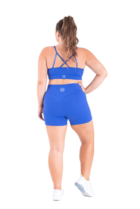 Blue Couture -Sports Bra Plus Size