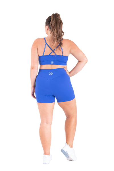 Blue Couture Sports Bra