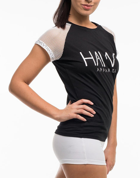 Signature Hawt Apparel Tee -Black - Hawt_Clothing