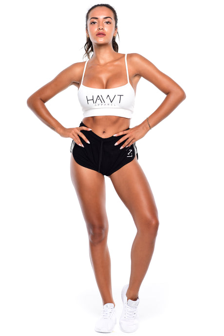 Basic Crop Top - White - Hawt_Clothing